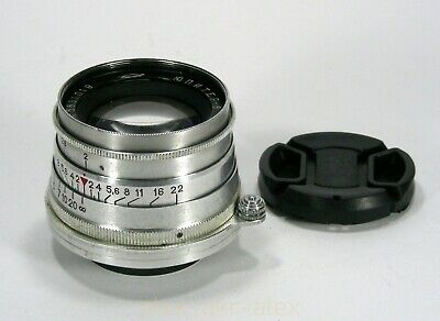 Russian Jupiter-8 lens 2/50 mm 1958 year M39 mount.Good working.CLA.№5831019