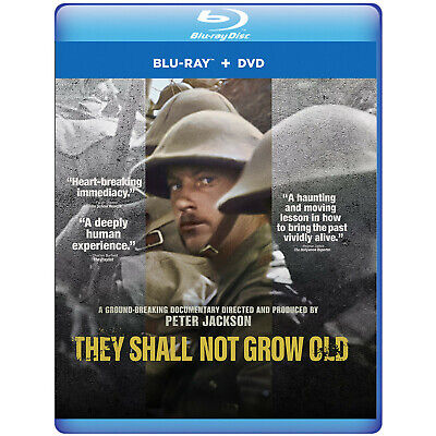 They Shall Not Grow Old DVD & Blu-ray, Region 1 (US & Canada)