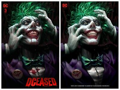 DCEASED #3  Derrick Chew Variant Set DC Comics 1st Print NM Limited To 1000