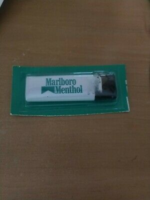 Marlboro Cigarettes White/Green Menthol Disposable Lighter N.I.P.