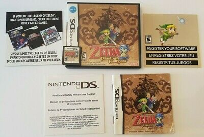 The Legend of Zelda: Phantom Hourglass (Nintendo DS, 2007) ☆Authentic / Tested☆