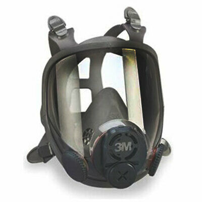 3M 6800 Full Facepiece Reusable Respirator Mask, Free Shipping, No DIN Connector