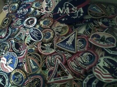 Vintage Lot Of 200 Nasa Space Shuttle Patches Patch Apollo,Challenger Nos