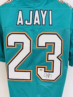 36498993 JAY AJAYI SIGNED Miami Dolphins Jersey (JSA) Pro Bowl Running Back ...