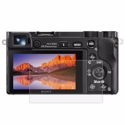 8X(PULUZ for Sony A6000 / A6300 / A6500 Camera 2.5D 0.3mm Curved Edge 9H Su W7V8