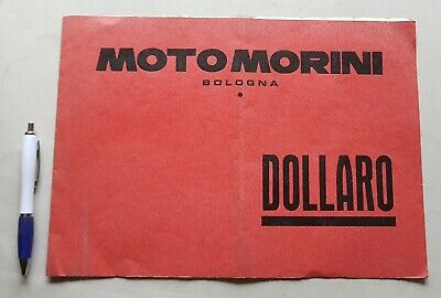 Moto Morini 50 Dollaro catalogo ricambi MOTORE originale spare parts catalogue