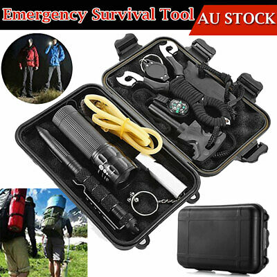 Emergency SOS Survival Kit Sports Equipment Tactical Outdoor Hiking Camping Tool