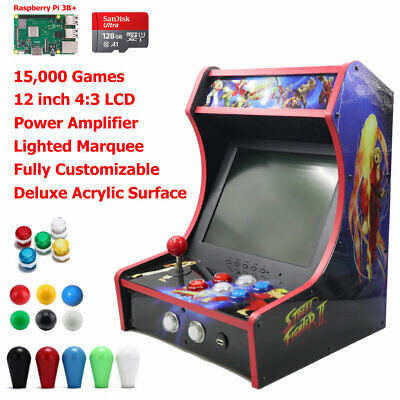 RetroArcadeCrafts RAC-B300 Mini Bartop Arcade Game Machine 128G Pi B+