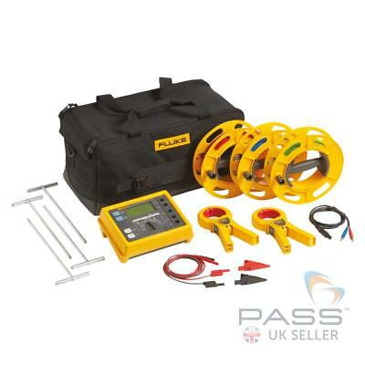 *New* Genuine Fluke 1625 Kit Advanced GEO Earth Ground Tester Kit / UK