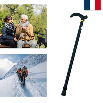 Telescopique Réglable Canne Bâton de Marche Randonnée Walking Hiking Escalade