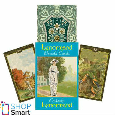 Lenormand Oracle Cards Deck Giordano Berti Esoteric Telling Lo Scarabeo New