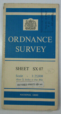1964 Old Vintage OS Ordnance Survey 1:25000 First Series Map SX 07 St Tudy