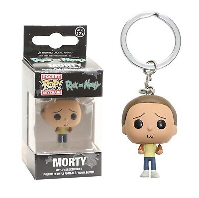 Funko Pocket Pop Keychain: Rick and Morty - Morty Vinyl Keychain Item #12919