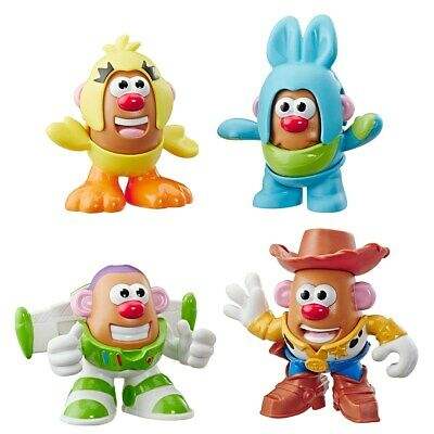 Disney Pixar: Toy Story 4 Mini Mr. Potato Head Figures 4 Pack Figures (4 Pack