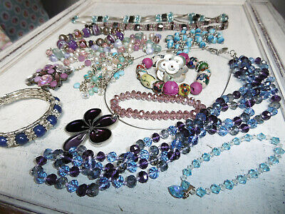 Job Lot Costume Jewellery In Box Mixed Lots Costume Jewellery