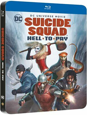 Suicide Squad Hell To Pay Steelbook Blu-Ray Nuevo Sellado