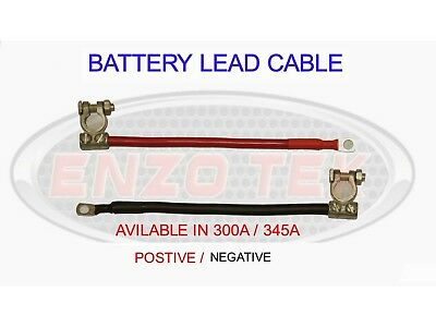 LIVE EARTH LEISURE BATTERY TERMINAL LINK LEAD CABLE SOLAR CAR HGV LORRY TRUCK