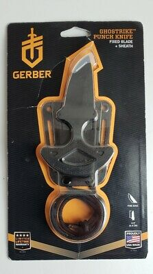 Gerber Tatical Ghostrike Knife Fixed Blade With Sheath