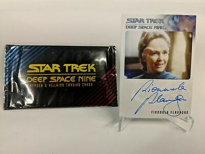 Star Trek Deep Space Nine Fionnula Flanagan Enina Tandro Autograph Card CABP06
