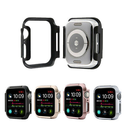 Wrist Band Strap Stainless Steel Case Cover For Apple Watch Series 4 40mm/44mm