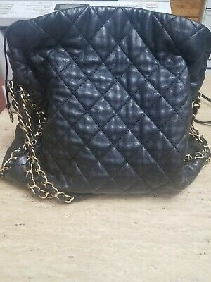 e3b9af1c6919d5 CHANEL IRIDESCENT CAVIAR Quilted Medium Double Flap Off White Silver ...