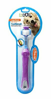 PET_SUPPLIES Dog 3-Sided Toothbrush for Brushing Dog's Teeth | Best