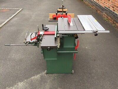 Used Combination Woodworking Machine 431 00 Picclick Uk