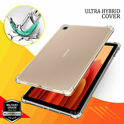 For Samsung Galaxy Tab A 10.1 2019 T510 515 Kids Shockproof TPU Clear Case Cover