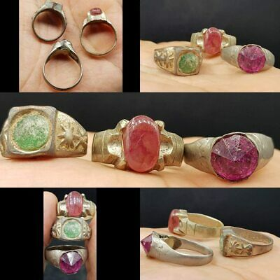 Near Eastern Antiques Fashion Style Stunning Old Intaglio Agate Stone Emperor Face Wonderful Old Ring