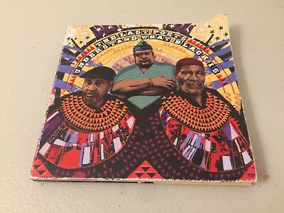 The Last Poets 2018 PROMO CD ALBUM Understand What Black Is A12