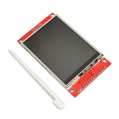 3.2 Inch 320X240 Spi Serial Tft Lcd Module Display Screen With Contact Pane G2E3