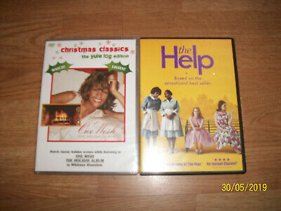 The Help (DVD, 2011) & One Wish The Holiday Album Christmas Classics DVD