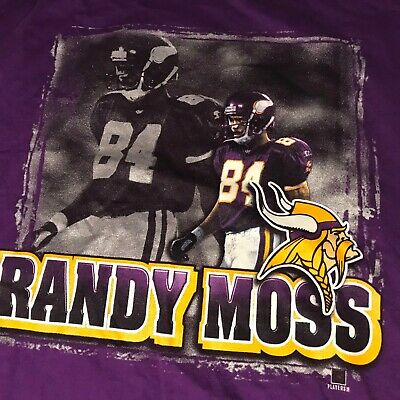 online retailer 65176 32ea1 MITCHELL & NESS Minnesota Vikings Randy Moss Toe Drag Fro ...