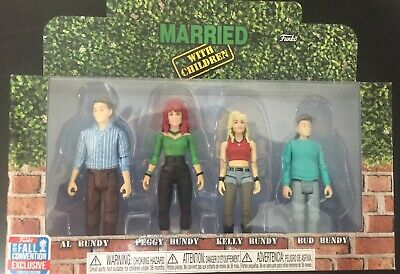 2018 Funko  Figures Married With Children TARGET Exclusive Peg Kelly Bud BUNDY