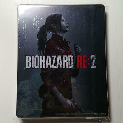 BIOHAZARD RE: 2 Steel book only Resident Evil GEO LIMITED Japan