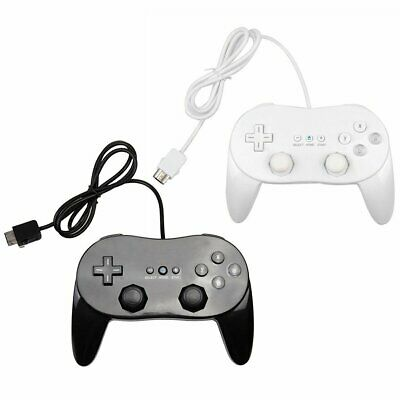 Game Controller Handle With Grip Joypad Gamepad For Nintendo Wii Console Classic