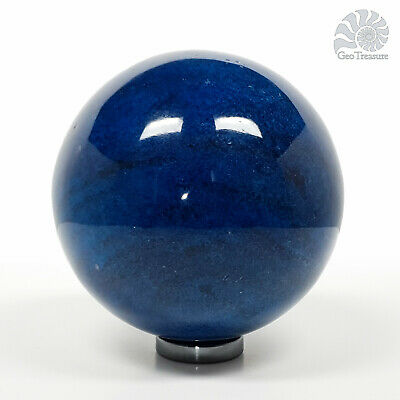 Blue Apatite Gemstone Crystal Sphere Ball Polished Reiki Chakra Healing 8cm