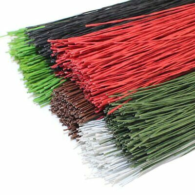 CCINEE 50PCS #22 Paper Covered Wire 0.7mm/0.0275Inch Diameter 40cm Long Iron