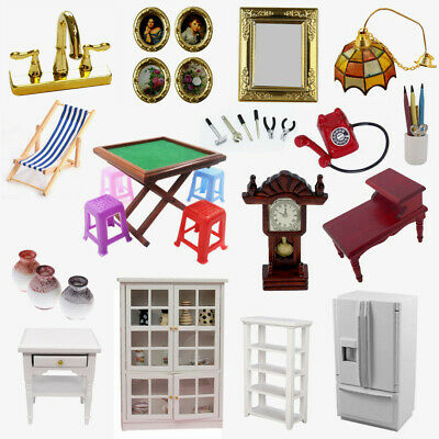 Miniature Table Photo Frame Furniture Accessories For 1:12 Dollhouse Home Decor
