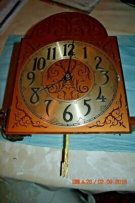General Electric 5 tube Grandfather Clock Movement ONLY for parts or repair