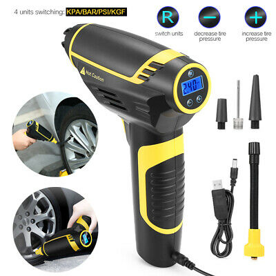 Rechargeable Cordless Handheld Mini Electric Tire Inflator Pump Air Compressor