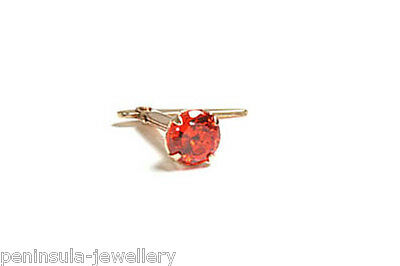 9ct Gold Andralok 3 5mm Crystal Nose Stud