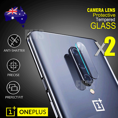 2X OnePlus 7 Pro Back Camera Lens Tempered Glass Screen Protector Guard