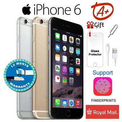 (Grade A+) APPLE IPHONE 6 16GB Unlocked Smartphone - Space Grey / Silver / Gold