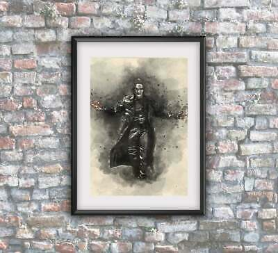 The Crow Brandon Lee Canvas Art Picture Print A4 OR A3