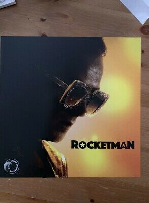 ROCKETMAN ELTON JOHN PROMO MOVIE POSTER 12 x 12