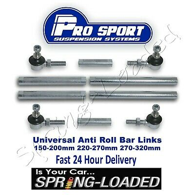 RoadNutz Front Adjustable Drop Links for Opel Vivaro 1.9//2.0//2.5 CDTi 2000-2014