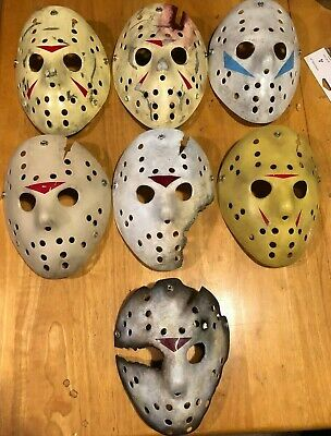 Friday the 13th Jason Voorhees Hockey Mask 7 Styles Available