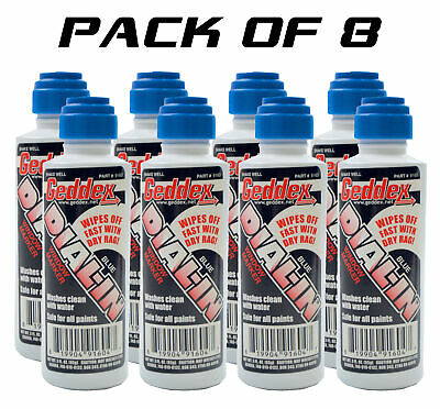 8 Pack Geddex Ged-916D Dial In Window Marker Chalk Blue Racing Marker 916D Blue