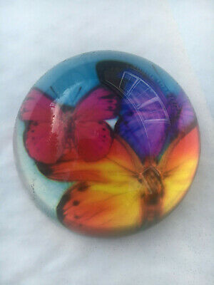 Beautiful Butterfly glass Paperweights